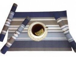 Podkładki na stół - Niebieskie - Komplet 4szt