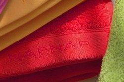 Ręcznik - Casual Czerwony - NAF NAF - 100% Bawełna