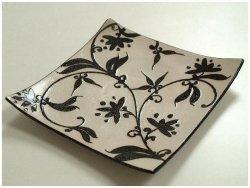 Patera na owoce - Wzór - Ceramika - 26x5cm