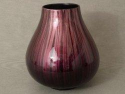 Wazon ceramiczny - Fiolet - 27x30cm