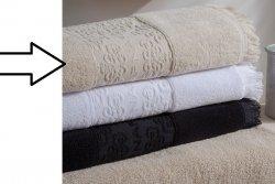 Ręcznik NAF NAF - Minos Beżowy - 30x50 cm