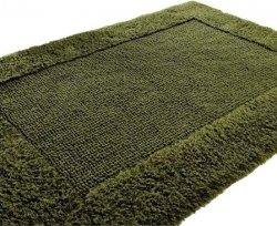 Dywanik łazienkowy - Oliwkowy - 60x105cm