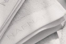 Ręcznik kąpielowy - Biały 100% Bawełny - 50x100 cm