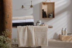 Ręcznik - Minos Biały - 100% Bawełna - NAF NAF