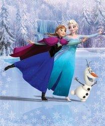 Fototapeta dla dziewczynki - Frozen - 3D - Walltastic