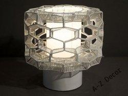 Lampka nocna - Honey Comb - 23x23cm