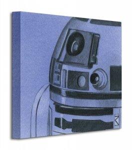 Obraz do sypialni - Star Wars R2-D2 Sketch