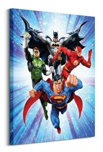 DC Comics Justice League (Supreme Team) - Obraz na płótnie