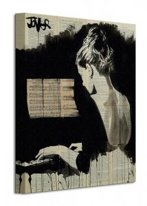 Her Sonata - Obraz na płótnie
