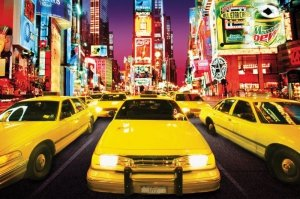 Times Square (Taxi) - plakat