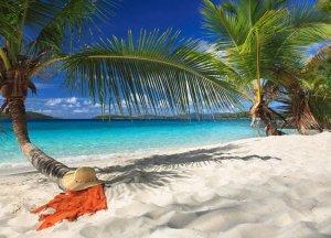 Fototapeta na ścianę - Tropikalna wyspa - 254x183 cm