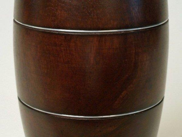 Vaso di legno di mango 15x38cm