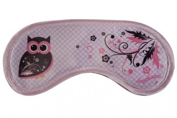Opaska na Oczy - Daydream - Wzór Owls Swirls