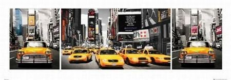 New York Taxis- reprodukcja