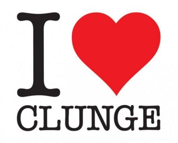 I Heart Clunge - plakat