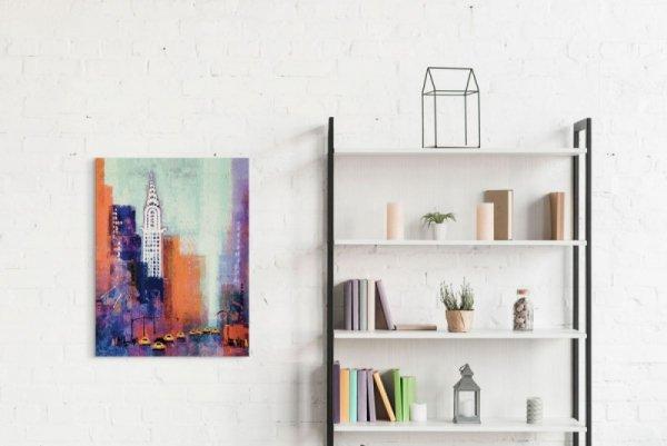 Manhattan Chrysler Building - Obraz na płótnie