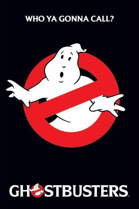Ghostbusters (logo) - plakat