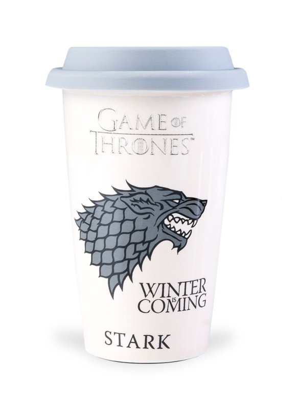 Gra o Tron Stark - Winter is Coming - kubek podróżny