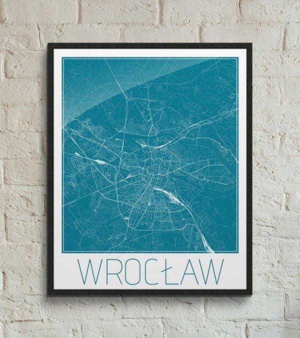 Wrocław - Niebieska mapa