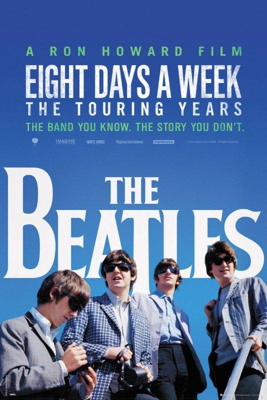 The Beatles Eight Days a Week - plakat