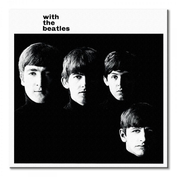The Beatles With The Beatles - obraz na płótnie