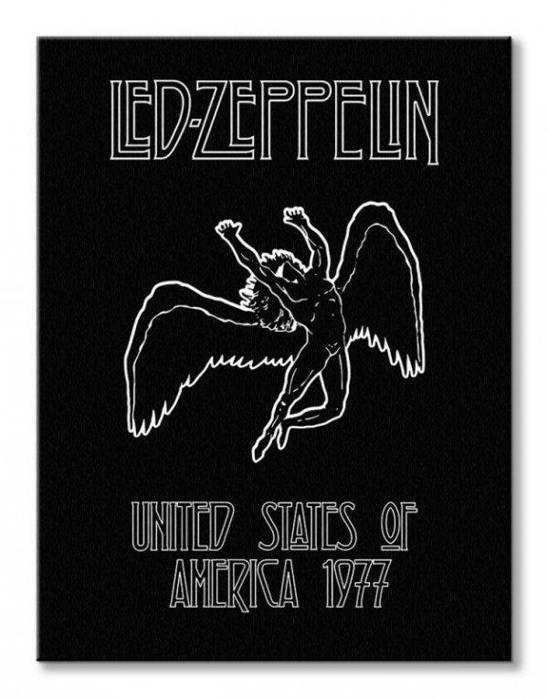 Led Zeppelin Icarus - obraz na płótnie