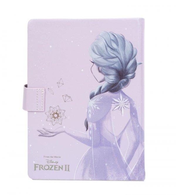 Frozen 2 Lilac Snow - notes A5