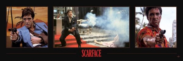 Scarface Say Hello To My Little Friend - plakat