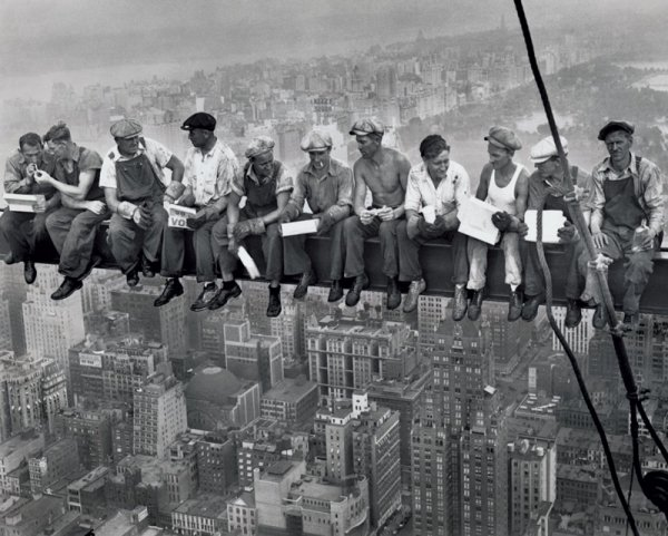 New York (Lunch On A Skyscraper) - plakat