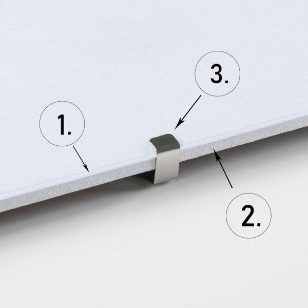 Antyrama z plexi 30x30 cm