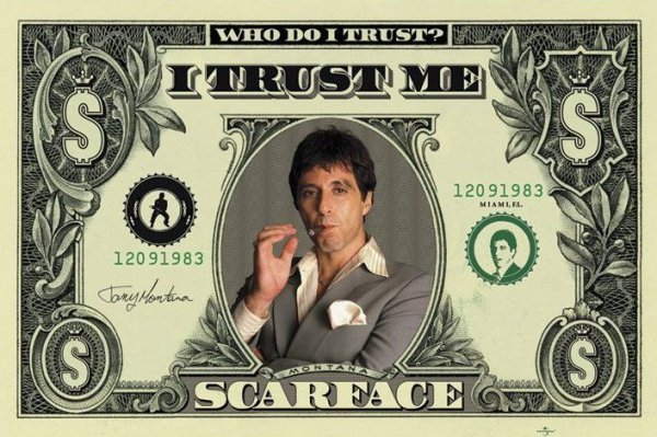 Scarface (Dollar) - plakat