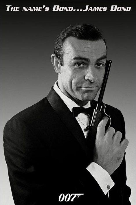 James Bond (The Name's Bond) - plakat