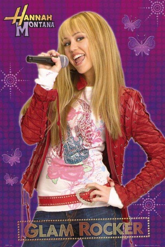 Hannah Montana(Glam rocker) - plakat