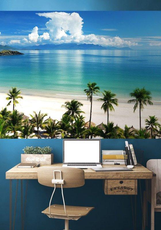 Fototapeta na ścianę - Tropiki, Pacyfik - 175x115 cm