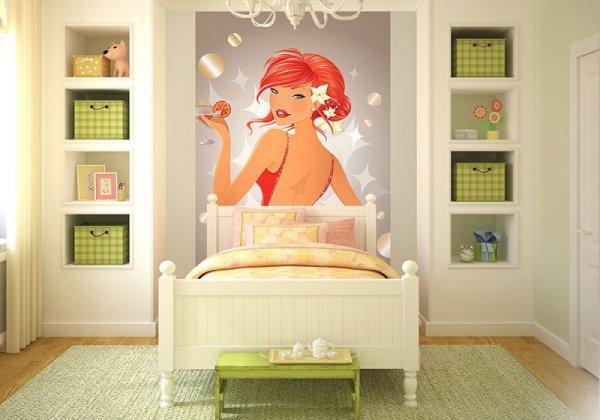 Fototapeta na ścianę - Party girl - 115x175 cm
