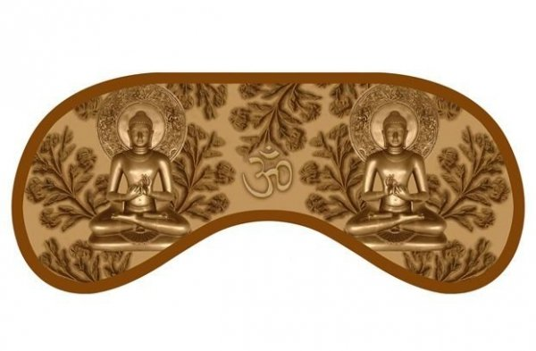 Opaska na Oczy - Daydream - Wzór Buddha
