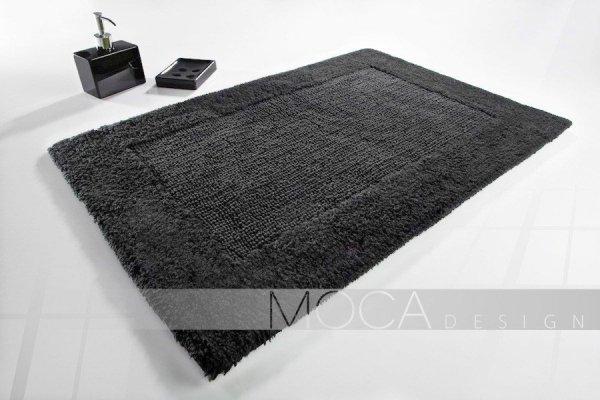 Dywanik łazienkowy - Ciemno szary - 60x105cm