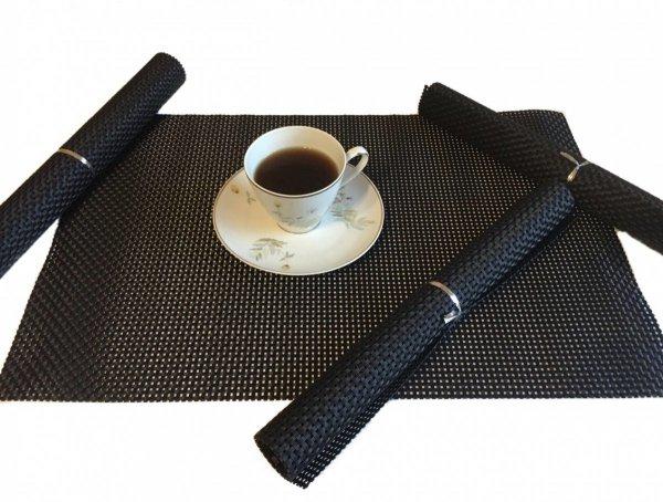 Podkładki na stół - Czarne - Kolorowe podkładki na stół Sklep