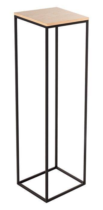 Kwietnik metalowy - Stojak wielofunkcyjny z blatem 84x22cm - sklep internetowy