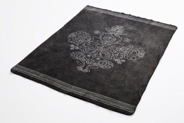 Koc - 150x200cm - Folklore grey