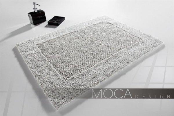 Dywanik łazienkowy - 60x100cm - Silver