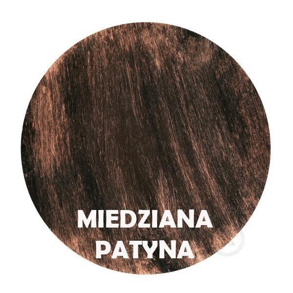 Miedziana patyna - Kolor kwietnika - 4 Doniczki - DecoArt24.pl