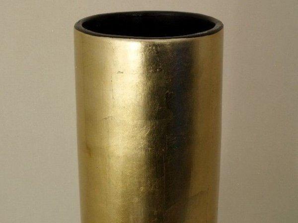 Wazon ceramiczny - Złoto - 23x58cm