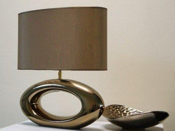 Lampa stołowa - Złoto - 47cm