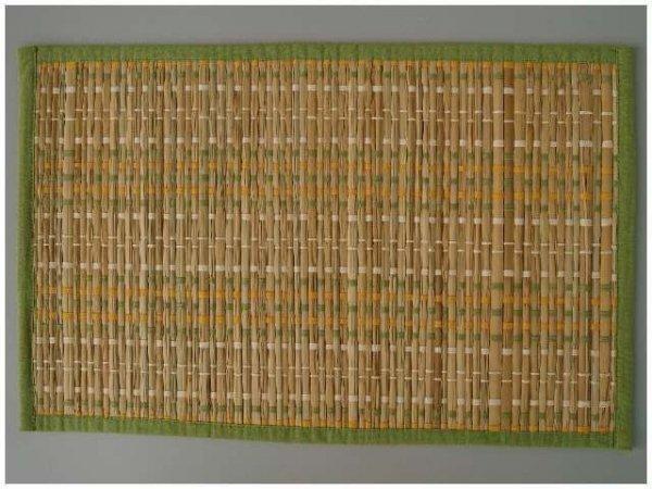 Podkładka na stół - Zielono żółta - 33x48cm (12szt./op)