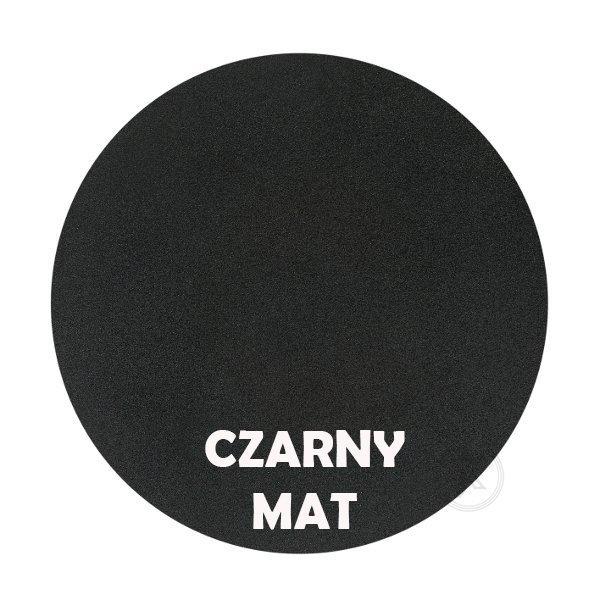 czarny mat - Kolorystyka metalu - Kwietnik ścienny - Sklep DecoArt24.pl