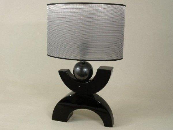 Lampa stołowa - X Kula - 35x24x56cm
