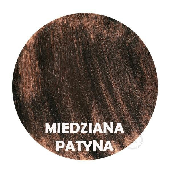 Miedziana patyna - Kolor kwietnika - Tuba na kwiaty - stojak - DecoArt24.pl