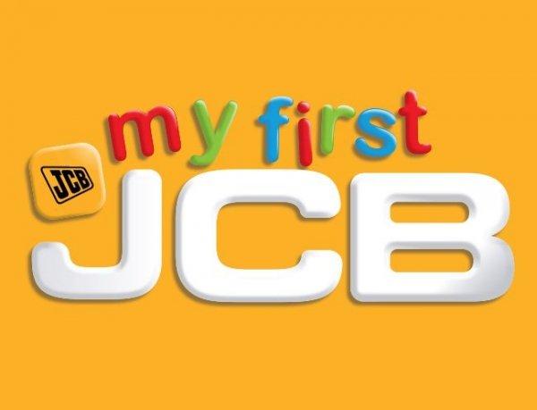 Fototapeta dla dzieci - My 1 st JCB - 3D - Walltastic - 243,8x304,8 cm
