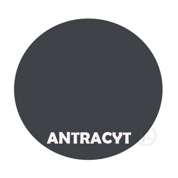 Antracyt - kolorystyka metalu - Kwietnik metalowy - Stojak - Sklep